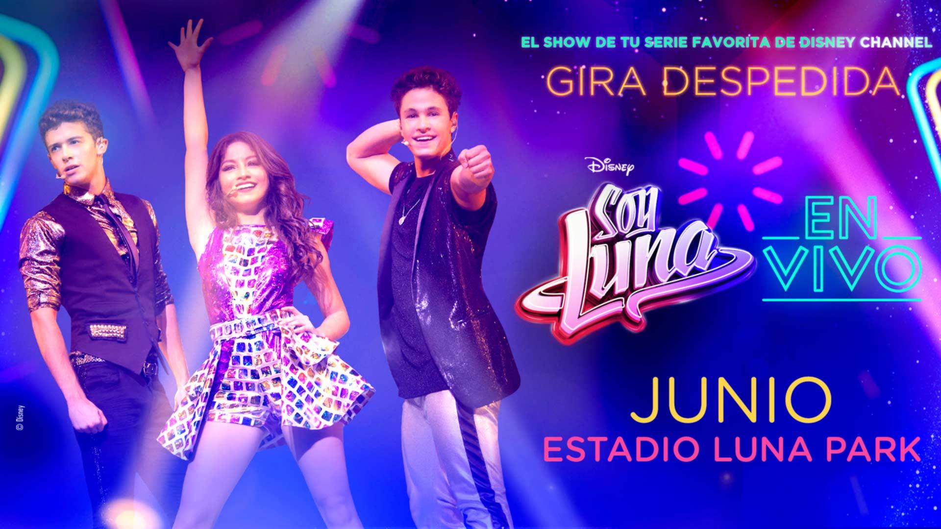Soy Luna En Vivo Stadium Luna Park