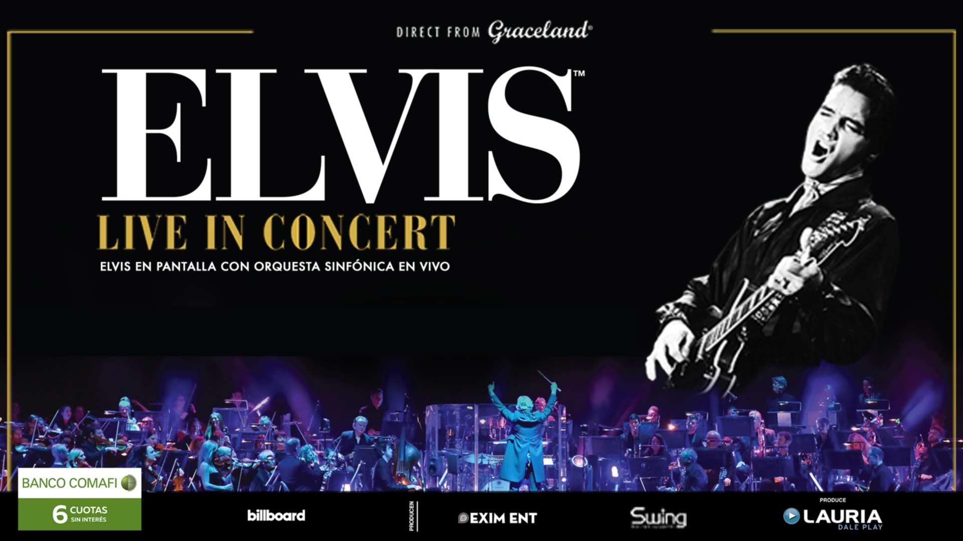 Elvis Live In Concert Stadium Luna Park