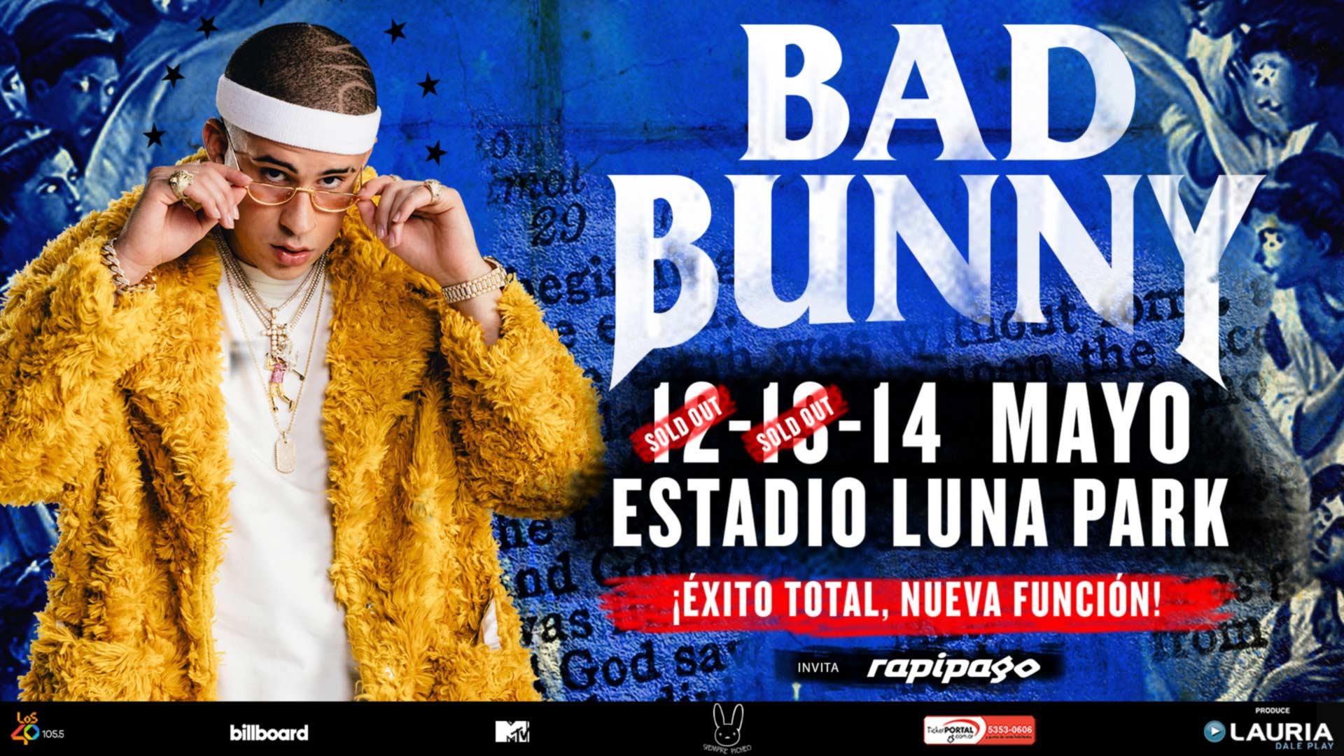 BAD BUNNY | Stadium Luna Park