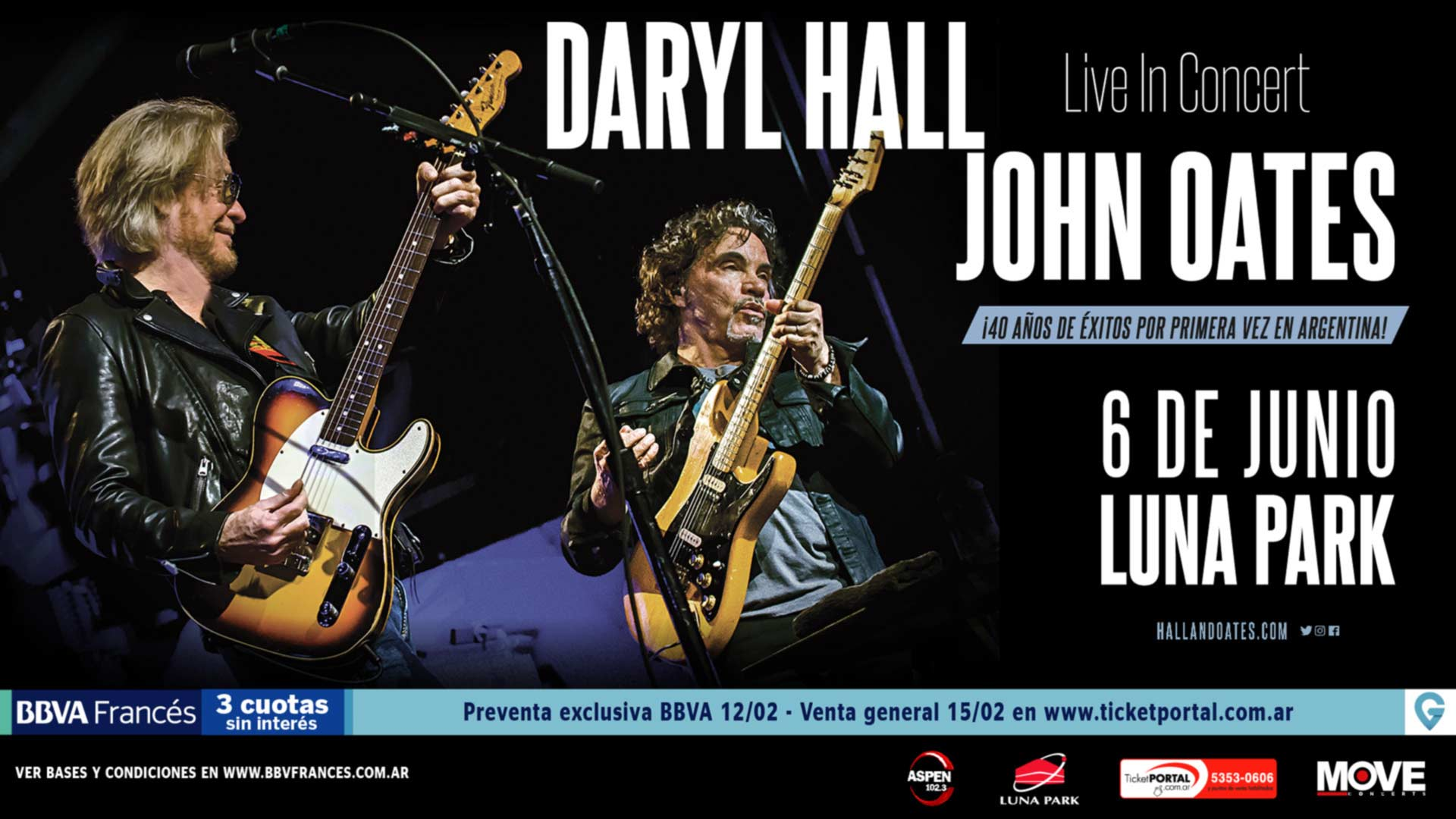 Daryl Hall And John Oates Stadium Luna Park