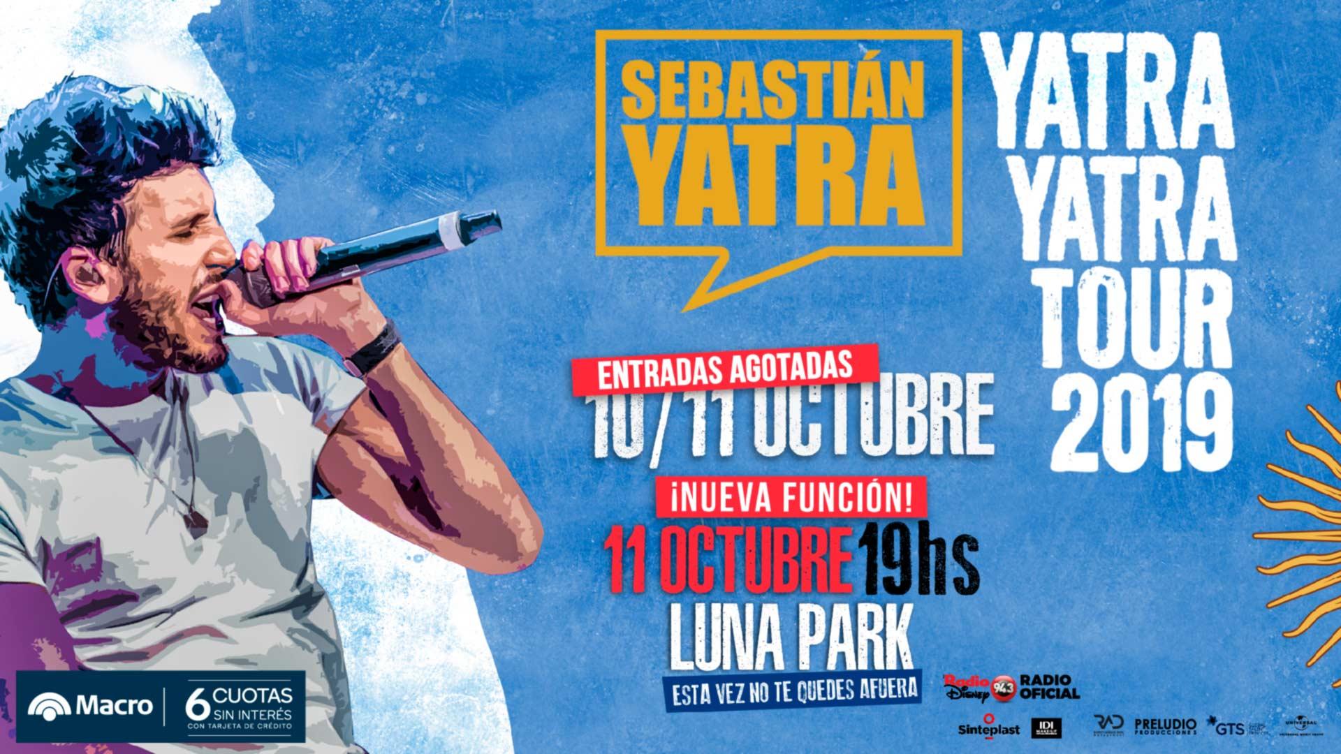 Sebastián Yatra Stadium Luna Park
