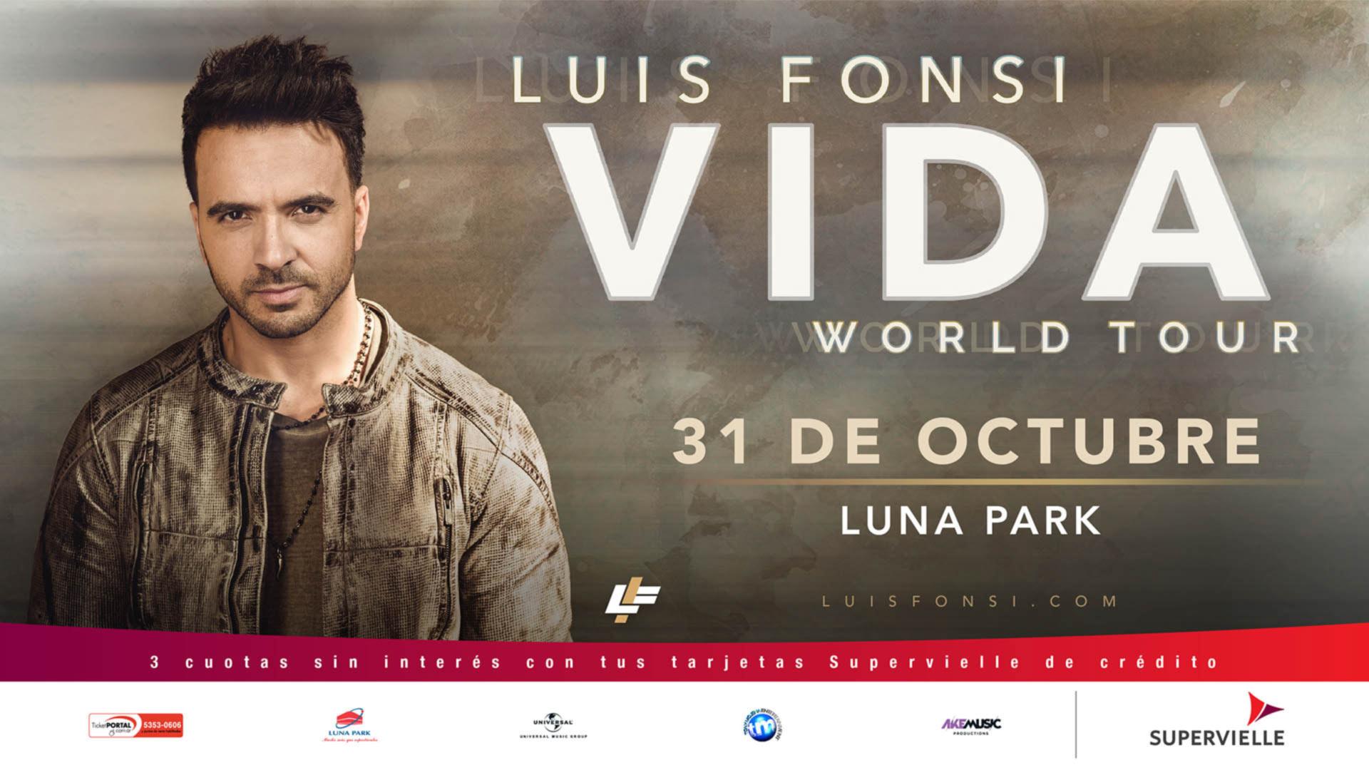 Luis Fonsi Stadium Luna Park