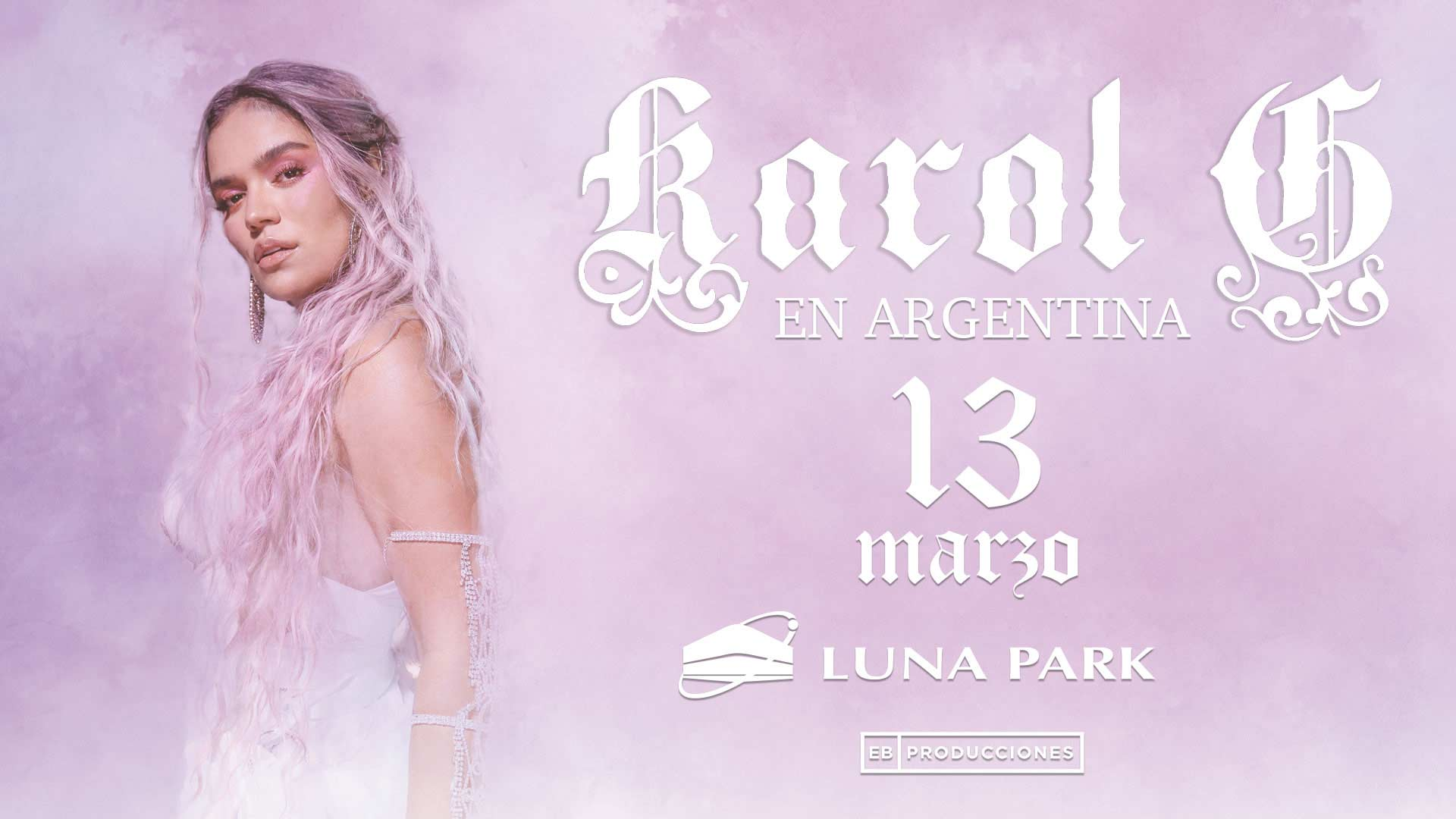 Pwr Presenta A Karol G En Argentina Stadium Luna Park