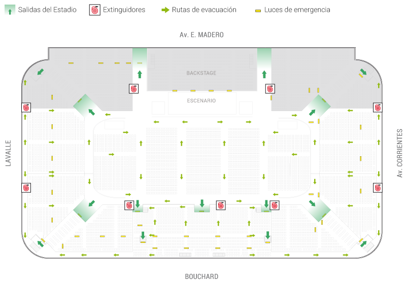 Camilo sesto stadium luna park for Puerta 9 luna park